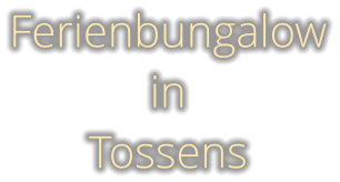 Ferienbungalow in  Tossens